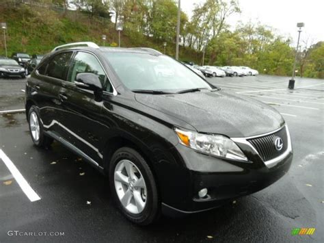 black lexus 2012 stargazer black 2012 lexus rx 350 awd exterior photo