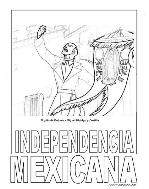imagenes para colorear independencia de mexico dibujos para colorear independencia de mexico dibujos