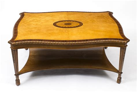 Regent Antiques Coffee Tables Stunning Birdseye Maple Birdseye Maple Coffee Table
