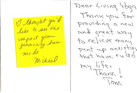 Handwritten Thank You Note For Donation What S In My Mailbox Nonprofit Thank Yous Grow