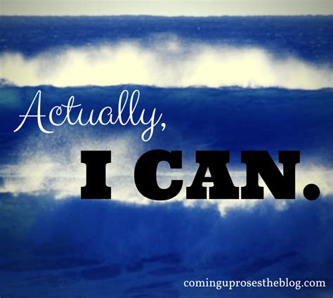 Actually I Can quot actually i can quot