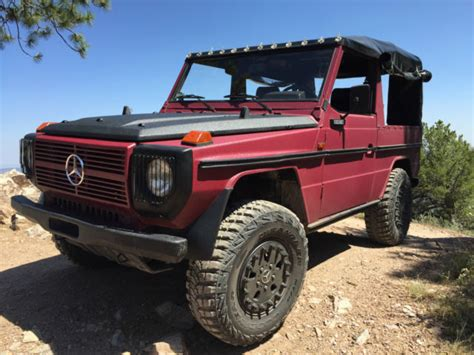 Mercedes Jeep For Sale Diesel Mercedes 240gd G Wagon G Class Jeep Fj40