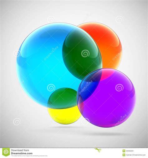 imagenes jpg transparentes esferas transparentes multicoloras abstractas imagen de