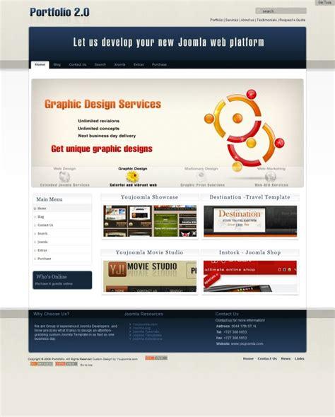 portfolio layout joomla portfolio2 0 joomla designer portfolio