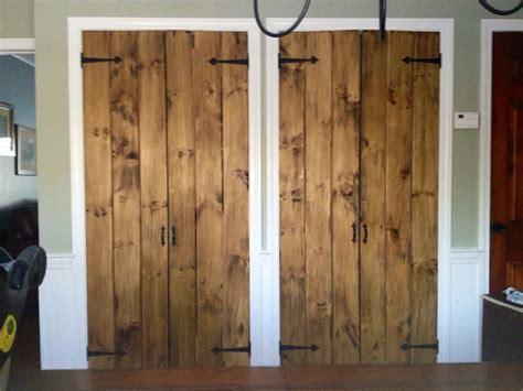 Rustic Pantry Doors by Rustic Pine Pantry Doors By Chrisstef Lumberjocks