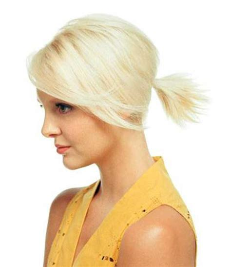 hairstyles for short hair in ponytail 10 cute ponytails for short hair short hairstyles 2017