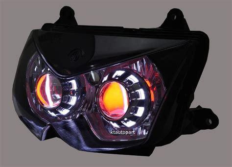 Lu Hid Motor X Ride kawasaki 250r custom headlight 2008 2012 hid gear bike