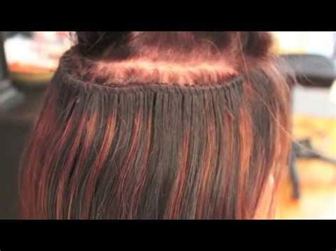 white sew in hair extensions caucasian track extensions braided sew in method how