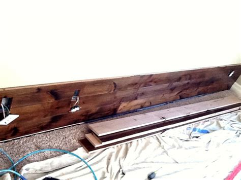 before after wood paneled accent wall design sponge before after wood paneled accent wall design sponge
