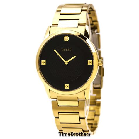 new guess for gold tone w black
