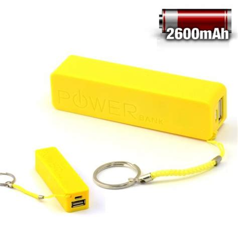 Powerbank Aili Paket 2600mah stick keychain powerbank pretty fab finds