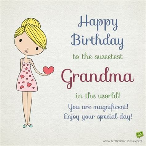 Happy Birthday Wishes For Grandmother From Your Grandma Grandpa Birthday Wishes For My Grandson