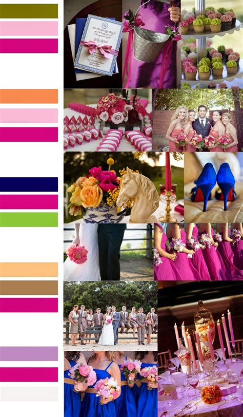 wedding color combinations unique wedding colors dress images