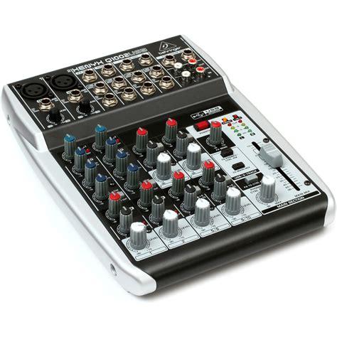 Mixer Xenix behringer xenyx q1002usb premium 10 input 2 mixer at gear4music