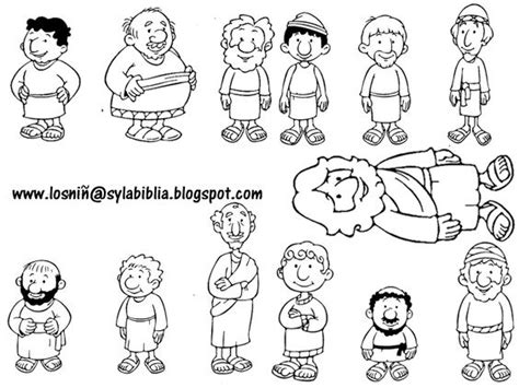 coloring pages jesus appears to the disciples jesus and his disciples template bible class ideas