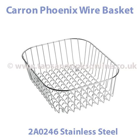 Carron Phoenix Wire Basket 2a0246 Wire Baskets Kitchen Kitchen Sink Wire Basket