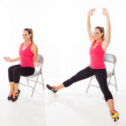 seated workout routine shape magazine