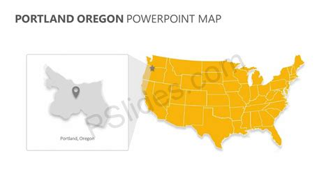 oregon state powerpoint template portland oregon powerpoint map pslides