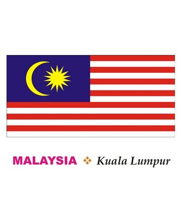 malaysia flag coloring pages learn kids about malaysia