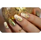 Nail Art Dor&233 Antique En Gel Foil  Tartofraises