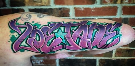 graffiti tattoos with creative and distinct meanings