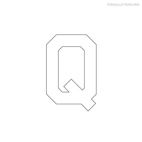 printable military letter stencils stencil letters q printable free q stencils stencil