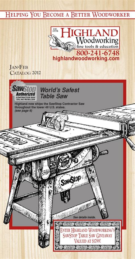 highland woodworker highland woodworking jan feb mar catalog by highland