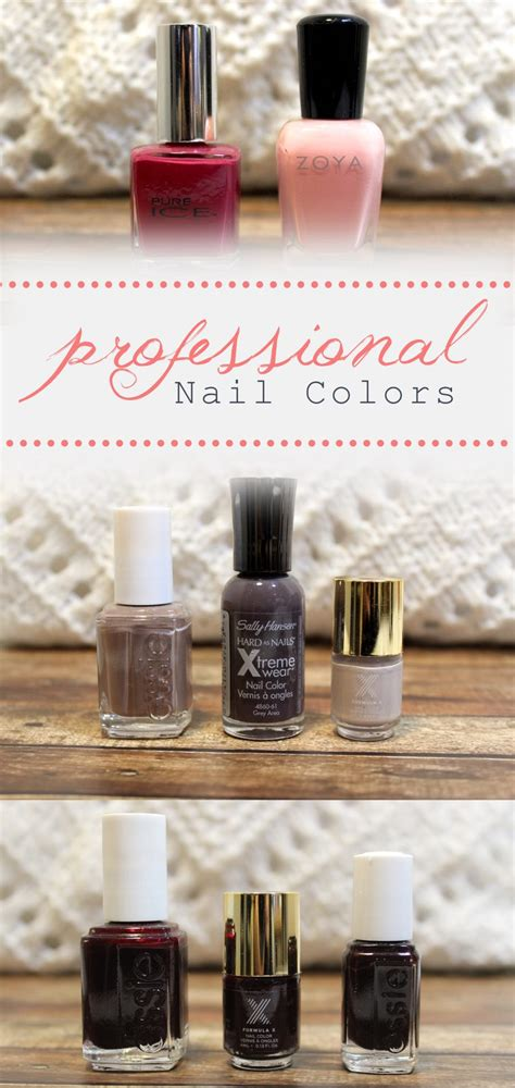 Best Nail Polish Colors For A Working Proffessional Woman | professional nail polish colors for work the beauty in it