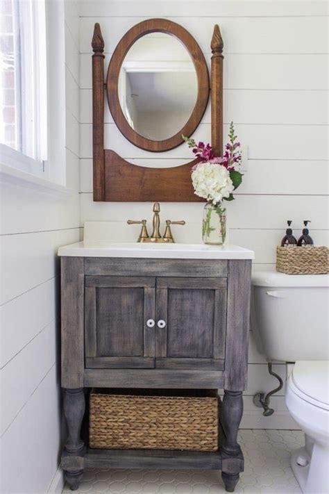chic diy bathroom vanity ideas diy projects