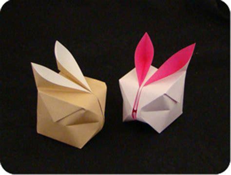 Origami Up Bunny - origami balloon bunny make origami
