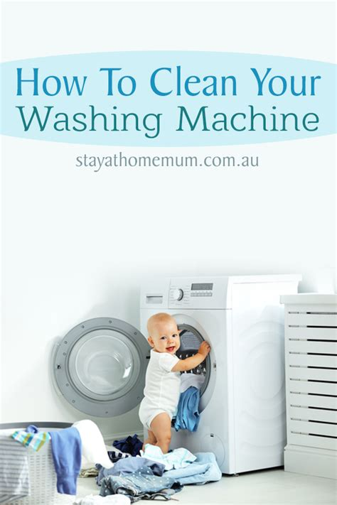 How To Clean Your by How To Clean Your Washing Machine Stay At Home
