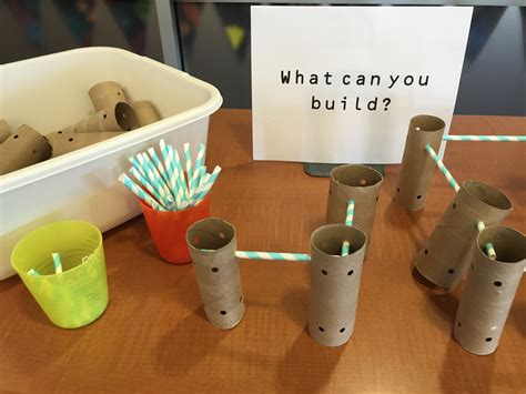 What Can You Make With Toilet Paper Rolls - tinker toys never shushed