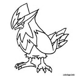 coloriage pokemon etouraptor dessin