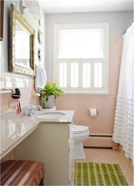 baby pink bathroom tiles interior decorating terms 2014
