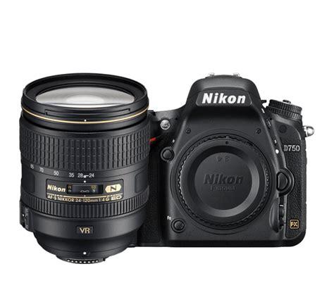 Nikon D750 Kit 24 120 4g Vr nikon d750 24 120mm nital dlsr frame cameras dslr new