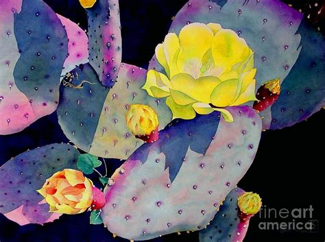 House Plans Online Free purple prickly pear painting by robert hooper