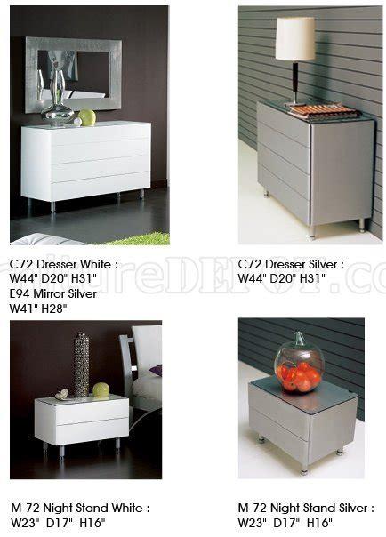 esf furniture luxury platform bedroom set in white and 390 nina white platform bedroom by esf w optional casegoods