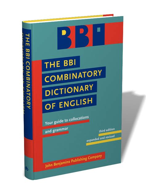 libro the bbi combinatory dictionary the bbi combinatory dictionary of english your guide to collocations and grammar third edition