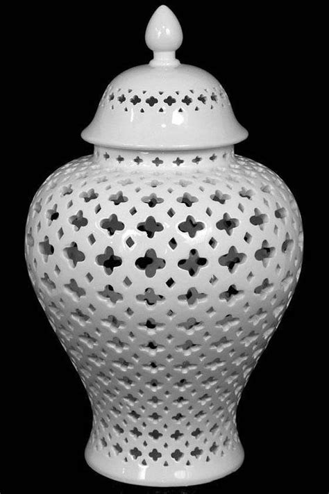 Carthage White carthage white pierced lantern