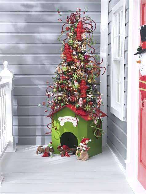 christmas dog house dog house christmas tree doggie style pinterest
