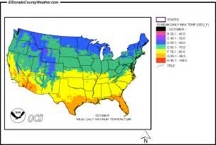 united states yearly annual daily maximum temperature