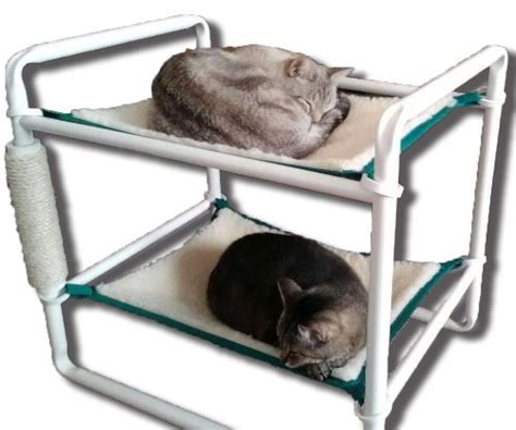 rover company raised cat bunk hammock pet bed we cats