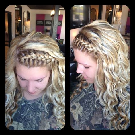 curl hair with braids 272 best images about half up half down with braids on