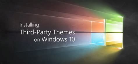 Third Party Themes For Windows 10 | how to install third party themes on windows 10