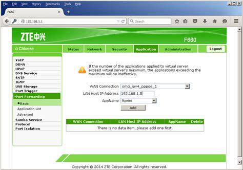 forwarding server ip address erna s konfigurasi forwarding pada ont f660