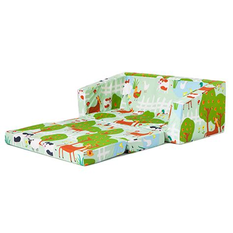 Folding Bed For Kid Children Folding Sofa Bed Futon Guest Mattress Fold Out