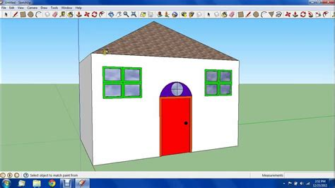 google sketchup house tutorial google sketchup tutorial 3 basic house youtube