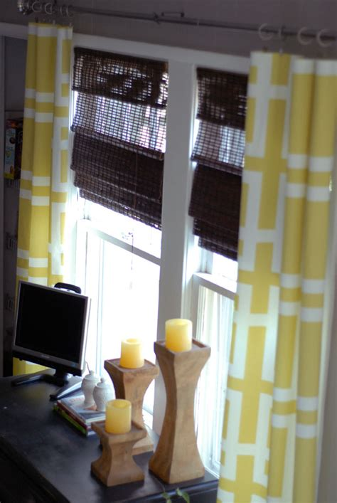 no sew curtain how to diy no sew curtain and shades extra space storage