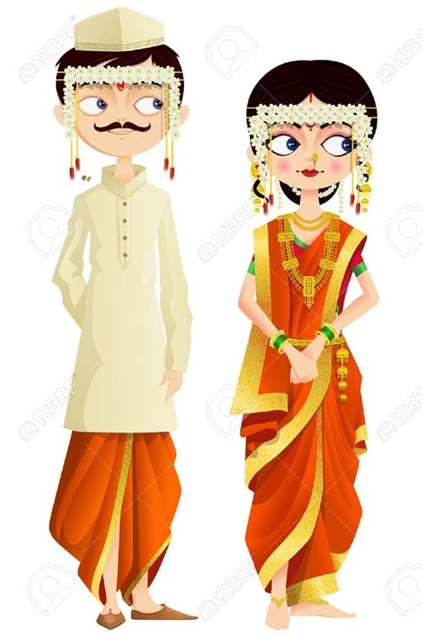 Indian Wedding Animation by Indian Traditional Dress Clipart Bbcpersian7 Collections