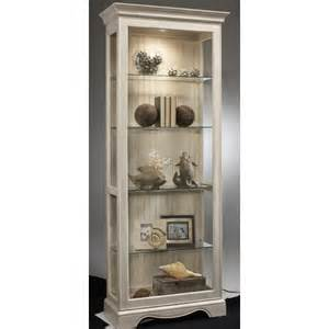 Curio Cabinets With Glass Doors Glass Door Curio Cabinet Wayfair